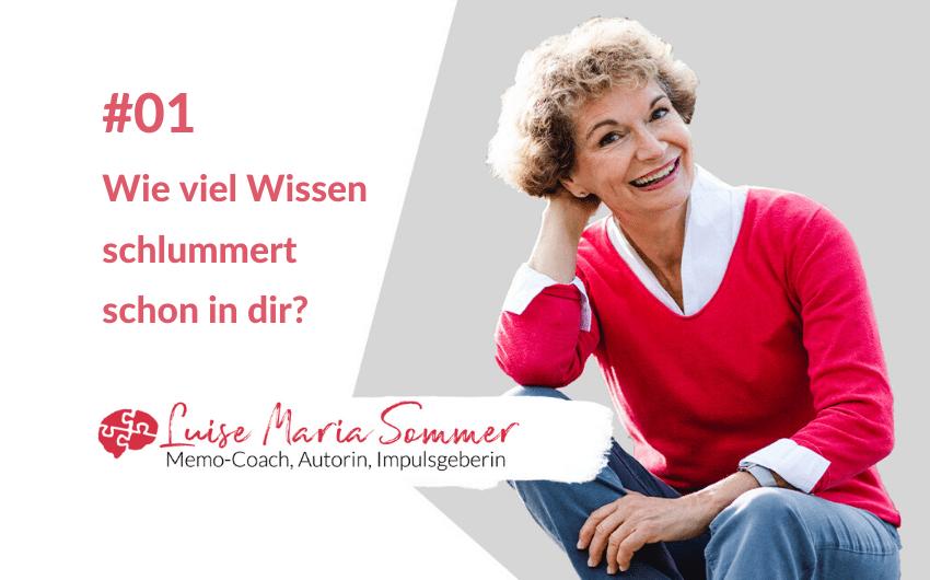 Gedächtnis verbessern Folge 1 Luise Maria Sommer