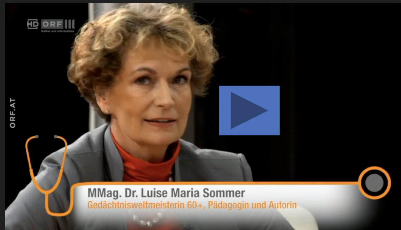 Dr. Luise M. Sommer_ORF III_TV-Auftritt 17.10.2018